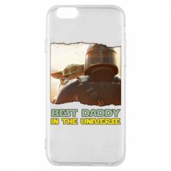 Чехол для iPhone 6/6S Best daddy mandalorian