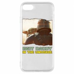 Чехол для iPhone 8 Best daddy mandalorian