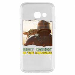 Чохол для Samsung A3 2017 Best daddy mandalorian