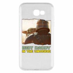 Чохол для Samsung A7 2017 Best daddy mandalorian