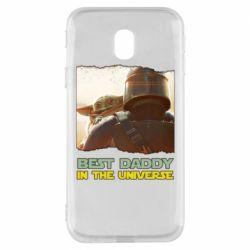 Чохол для Samsung J3 2017 Best daddy mandalorian