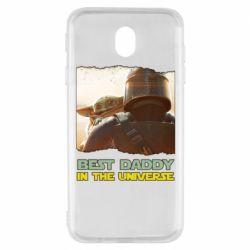 Чохол для Samsung J7 2017 Best daddy mandalorian