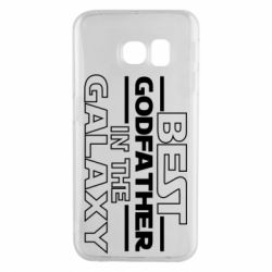 Чохол для Samsung S6 EDGE Best godfather in the galaxy