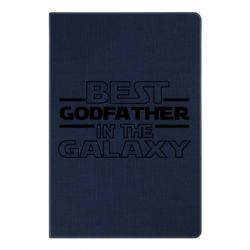 Блокнот А5 Best godfather in the galaxy