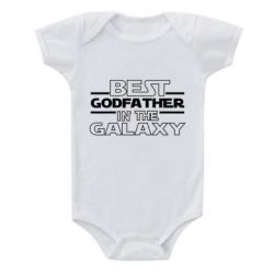 Дитячий бодік Best godfather in the galaxy