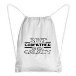 Рюкзак-мішок Best godfather in the galaxy