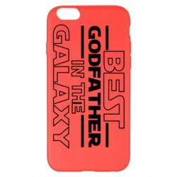Чохол для iPhone 6 Plus/6S Plus Best godfather in the galaxy