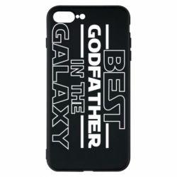 Чохол для iPhone 8 Plus Best godfather in the galaxy
