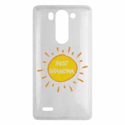 Чехол для LG G3 mini/G3s Best Grandma - FatLine