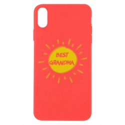 Чохол для iPhone Xs Max Best Grandma