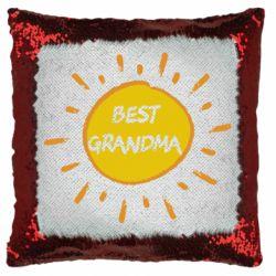 Подушка-хамелеон Best Grandma
