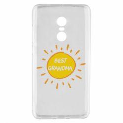 Чехол для Xiaomi Redmi Note 4 Best Grandma - FatLine