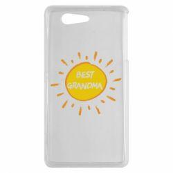 Чехол для Sony Xperia Z3 mini Best Grandma - FatLine