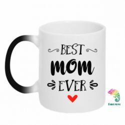 Кружка-хамелеон Best mom ever