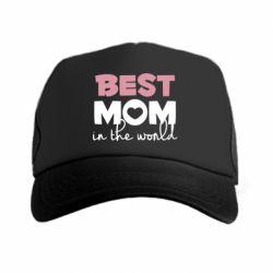 Кепка-тракер Best mom