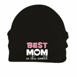 Шапка на флісі Best mom