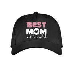 Дитяча кепка Best mom