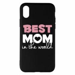 Чохол для iPhone X/Xs Best mom