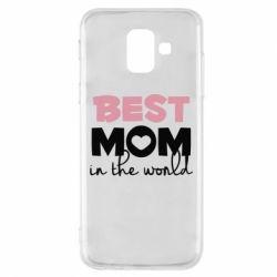 Чохол для Samsung A6 2018 Best mom