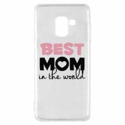 Чохол для Samsung A8 2018 Best mom