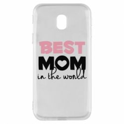Чохол для Samsung J3 2017 Best mom