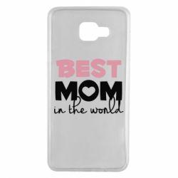 Чохол для Samsung A7 2016 Best mom