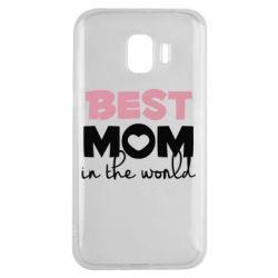 Чохол для Samsung J2 2018 Best mom