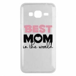 Чохол для Samsung J3 2016 Best mom