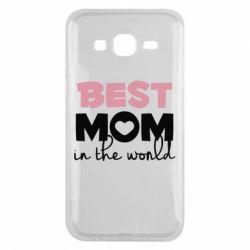 Чохол для Samsung J5 2015 Best mom