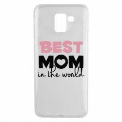 Чохол для Samsung J6 Best mom