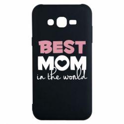 Чохол для Samsung J7 2015 Best mom