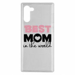 Чохол для Samsung Note 10 Best mom
