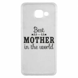 Чохол для Samsung A3 2016 Best mother in the world