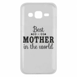 Чохол для Samsung J2 2015 Best mother in the world