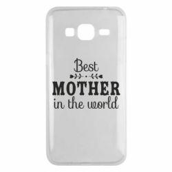 Чохол для Samsung J3 2016 Best mother in the world