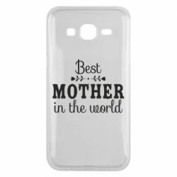 Чохол для Samsung J5 2015 Best mother in the world