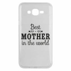 Чохол для Samsung J7 2015 Best mother in the world