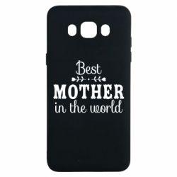 Чохол для Samsung J7 2016 Best mother in the world