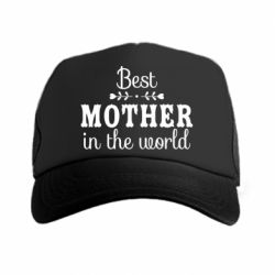 Кепка-тракер Best mother in the world