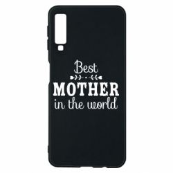 Чохол для Samsung A7 2018 Best mother in the world