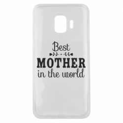 Чохол для Samsung J2 Core Best mother in the world
