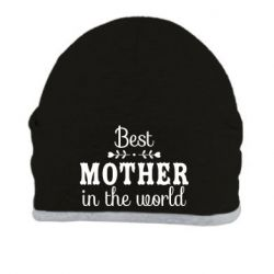 Шапка Best mother in the world