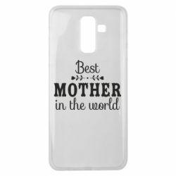 Чохол для Samsung J8 2018 Best mother in the world