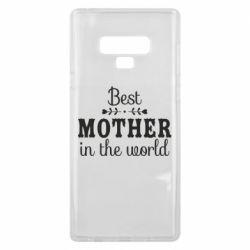 Чохол для Samsung Note 9 Best mother in the world