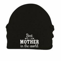 Шапка на флісі Best mother in the world