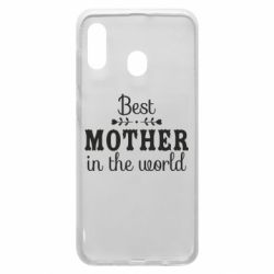 Чохол для Samsung A20 Best mother in the world