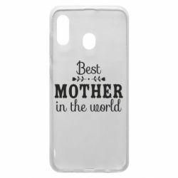 Чохол для Samsung A30 Best mother in the world