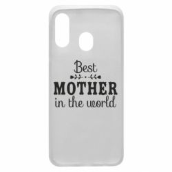 Чохол для Samsung A40 Best mother in the world