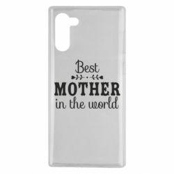 Чохол для Samsung Note 10 Best mother in the world