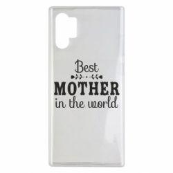 Чохол для Samsung Note 10 Plus Best mother in the world